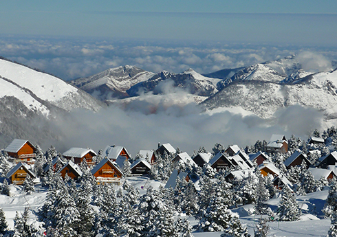 faire du ski pyrénées
