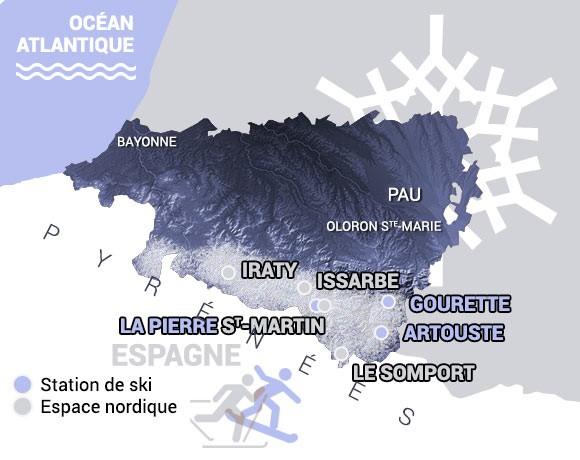 ski alpin nordique snowboard pays basque b arn pyr n es. Black Bedroom Furniture Sets. Home Design Ideas