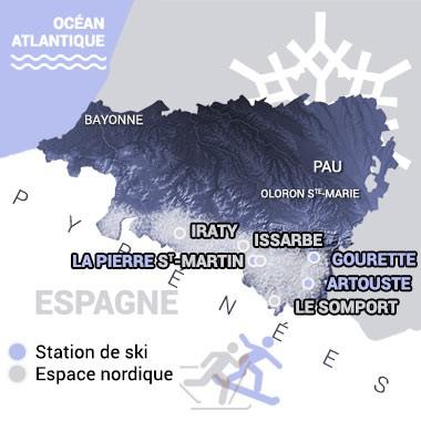 pierre st martin b arn pyr n es ski nordique for t du braca. Black Bedroom Furniture Sets. Home Design Ideas